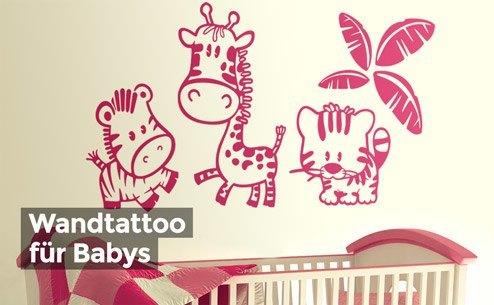 Wandtattoo f r die dekoration von kinderzimmern - Wandtattoo fur bad ...