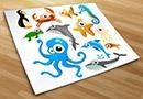 Kinderzimmer wandtattoos aquarius