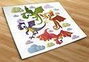 Kinderzimmer wandtattoos dinosaurier