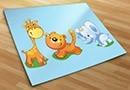 Kinderzimmer wandtattoos zoo 2