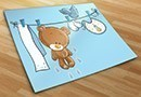 Kinderzimmer wandtattoos teddy