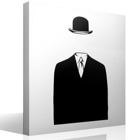 Wandtattoos: Magritte