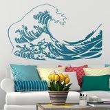 Wandtattoos: Die große Welle von Kanawa 0