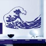 Wandtattoos: Die große Welle von Kanawa 1