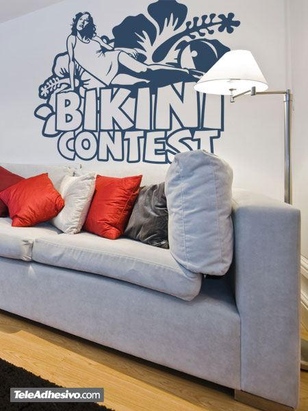 Wandtattoos: Bikini Contest