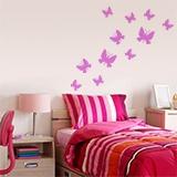 Wandtattoos: Kit 24 Schmetterlinge 3