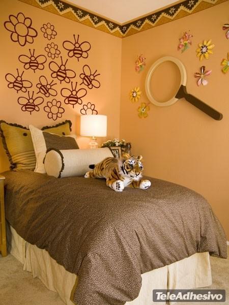 Kinderzimmer Wandtattoo: Kit Bienen 2