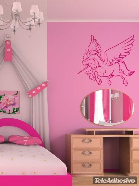 Kinderzimmer Wandtattoo: Einhorn