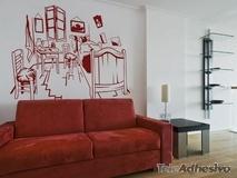 Wandtattoos: Van Gogh Zimmer 2