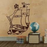 Kinderzimmer Wandtattoo: Piratenschiff 0