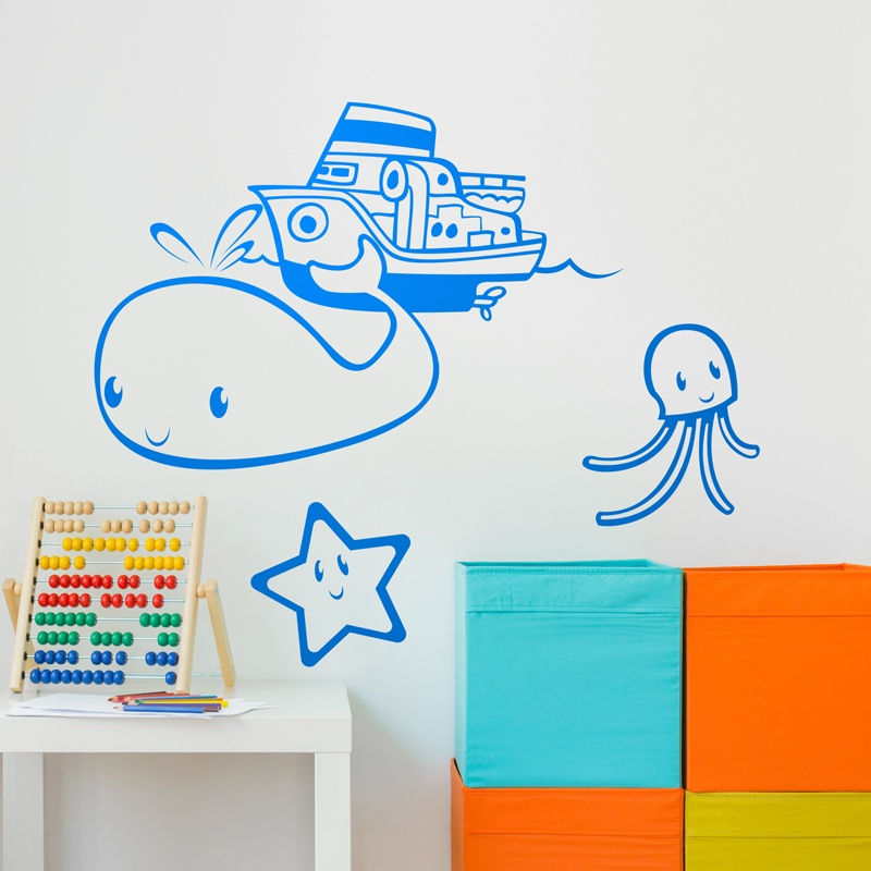 Kinderzimmer Wandtattoo: Little Sailor
