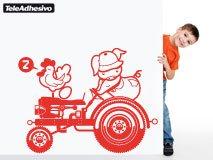Kinderzimmer Wandtattoo: Tractor 1