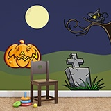 Wandtattoos: KIT halloween farbigen 0