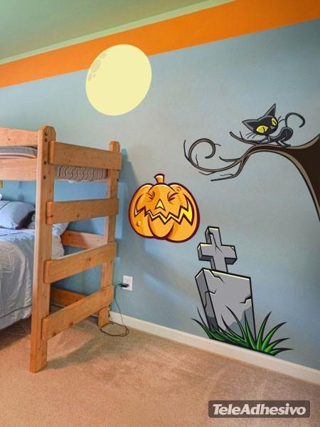 Wandtattoos: KIT halloween farbigen