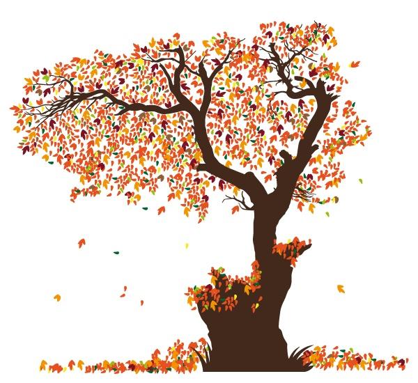 Wandtattoos: Lamina hojas