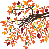 Wandtattoos: Lamina hojas 2