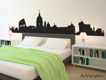 Wandtattoos: Rome Skyline 2