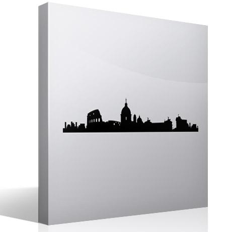 Wandtattoos: Rome Skyline