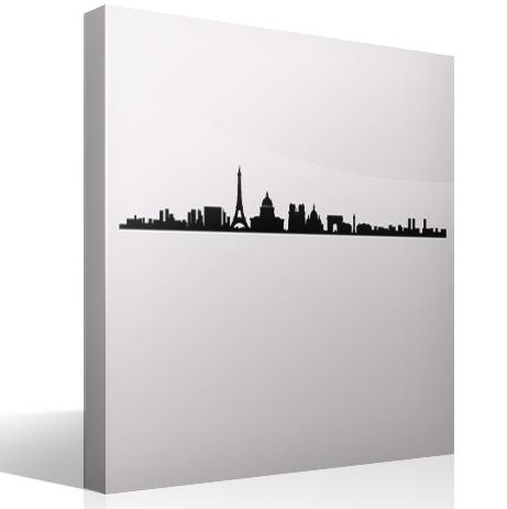 Wandtattoos: Paris Skyline