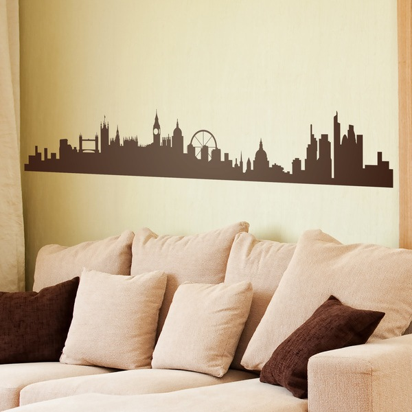 Wandtattoos: London Skyline