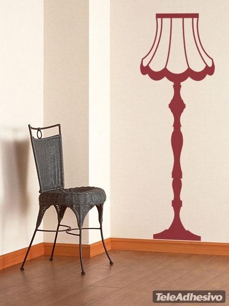 Wandtattoos: Lampe Vintage
