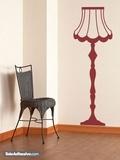 Wandtattoos: Lampe Vintage 2