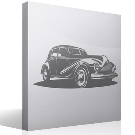 Wandtattoos: Gangster auto 2