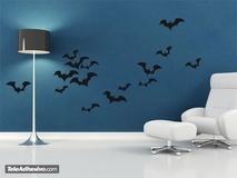 Wandtattoos: Bats 1