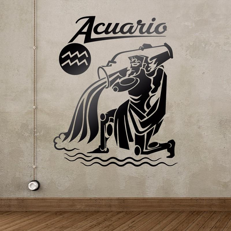 Wandtattoos: zodiaco 45 (Acuario)