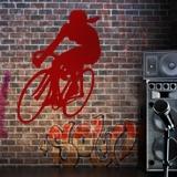 Wandtattoos: Ciclista 0