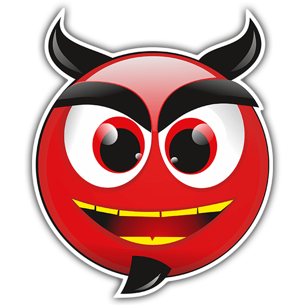Aufkleber: Teufel