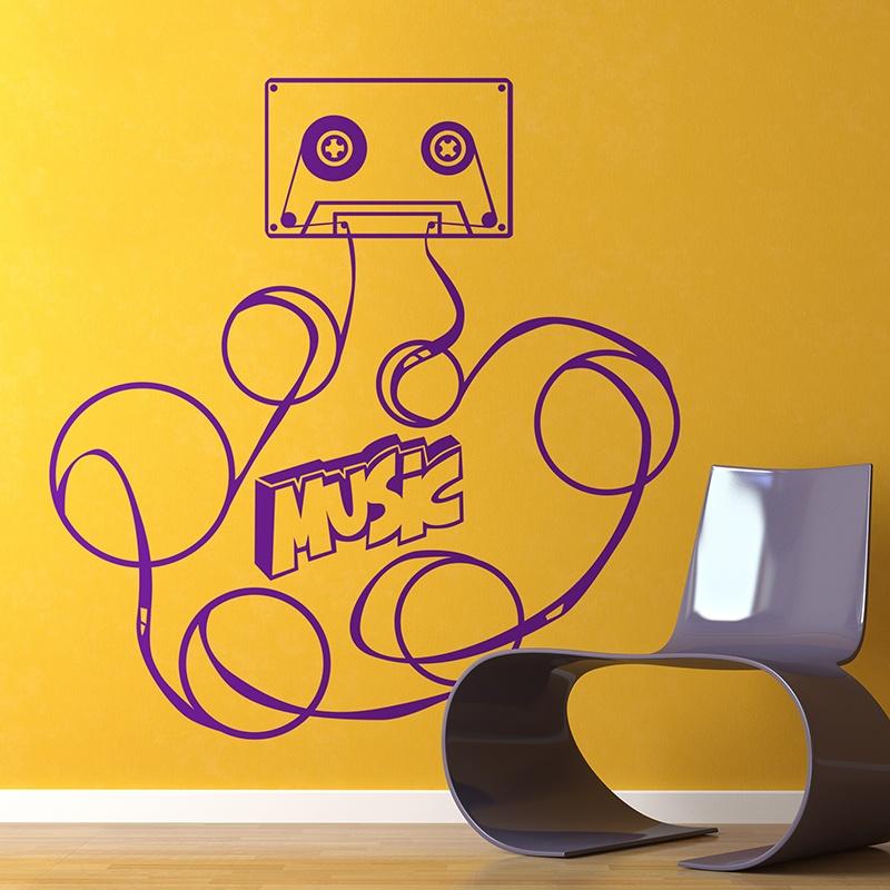 Wandtattoos: Music