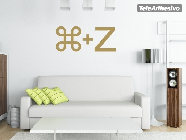 Wandtattoos: Ctrl Z 1