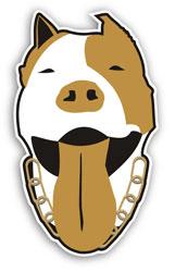 Aufkleber: Dog 1