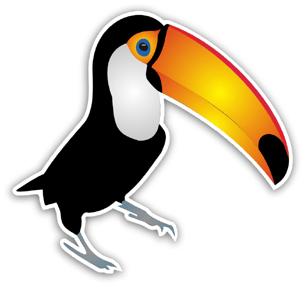 Aufkleber: Pelican 2