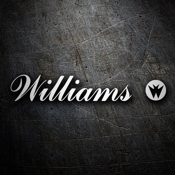 Aufkleber: Williams Entertainment Logo