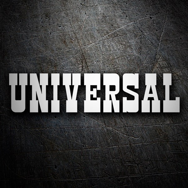 Aufkleber: Universal Entertainment