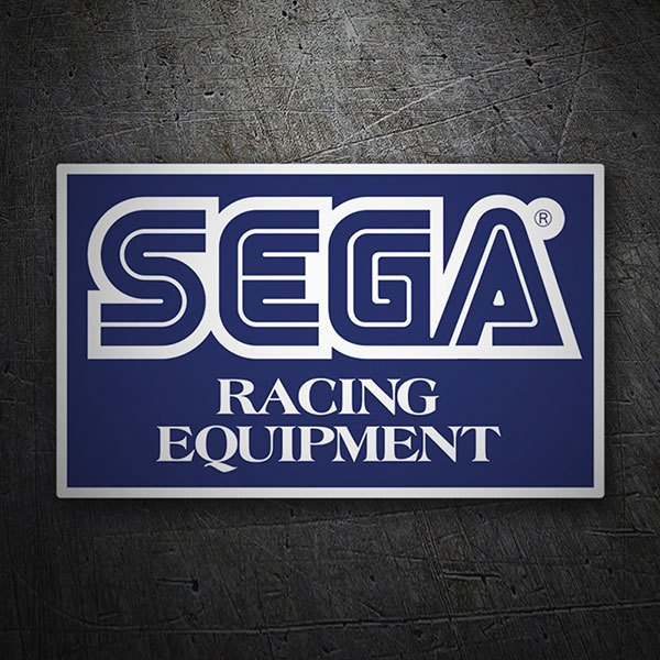 Aufkleber: Sega Racing Equipment