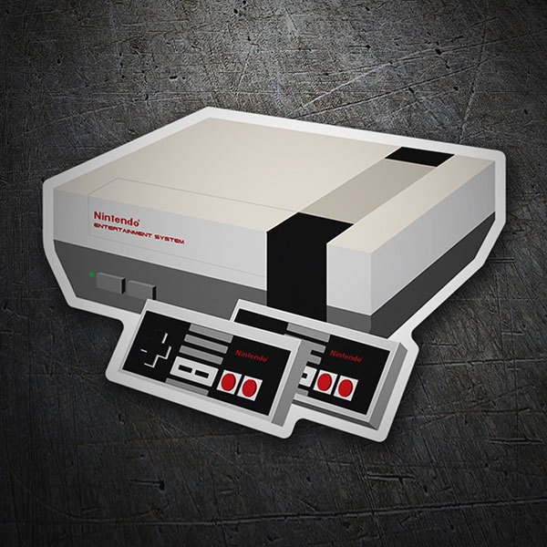Aufkleber: Nintendo Entertainment System