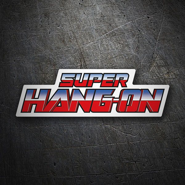 Aufkleber: Super Hang-On