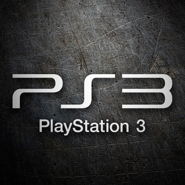 Aufkleber: Play Station 3 Logo