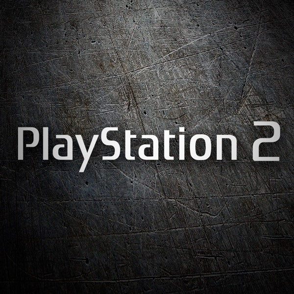 Aufkleber: Play Station 2