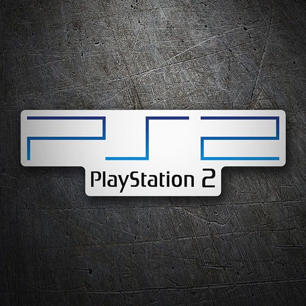 Aufkleber: Play Station 2 Logo