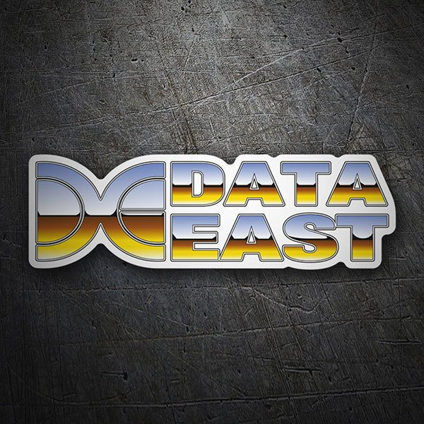 Aufkleber: Data East