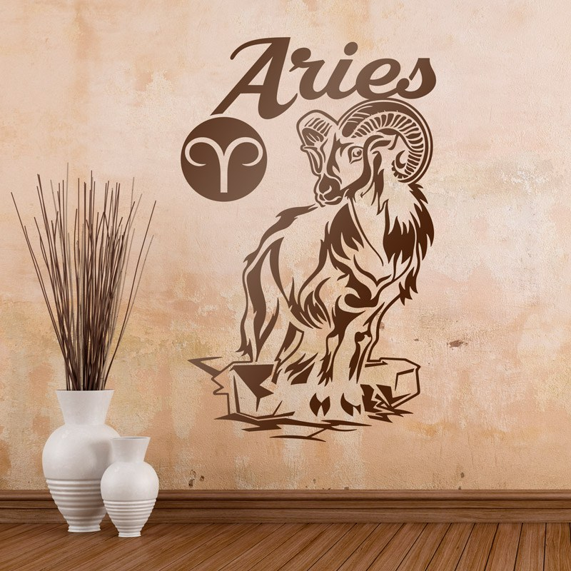 Wandtattoos: zodiaco 11 (Aries)