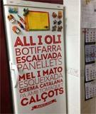 Wandtattoos: Gastronomie in Barcelona 2