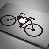 Aufkleber: Fahrrad 1