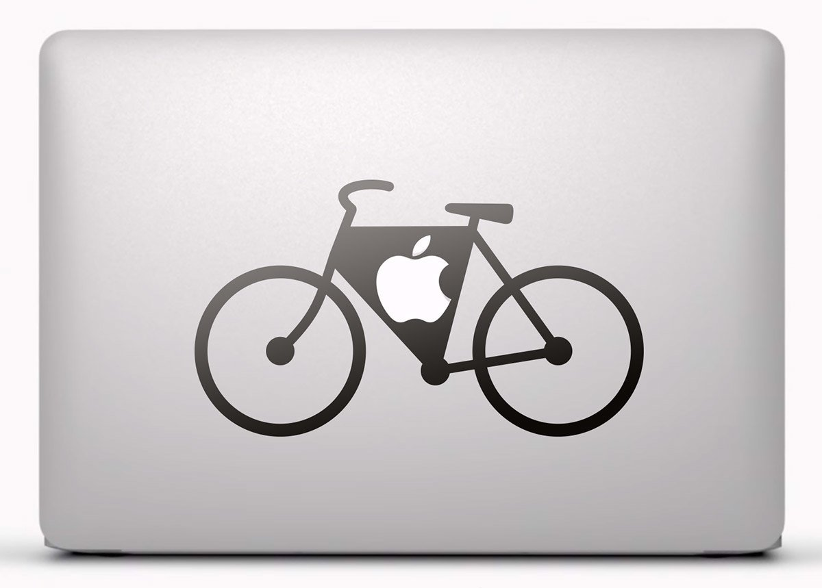 Aufkleber: Fahrrad