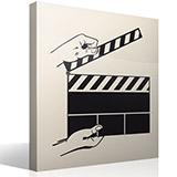 Wandtattoos: Film Slate 3