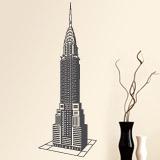 Wandtattoos: Chrysler Building 2